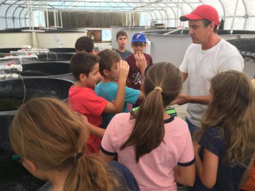 Pinellas 4H kids tour the TAL